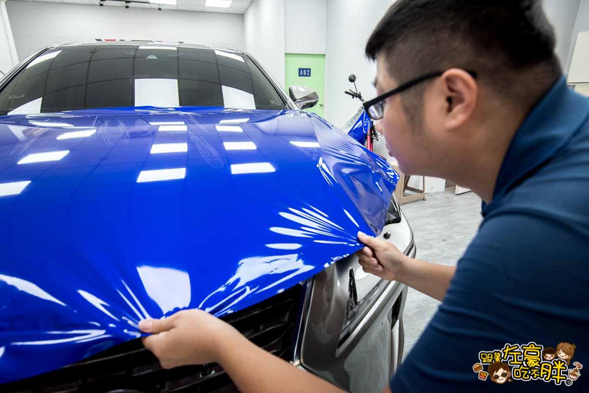 高雄貼膜推薦 膜術魔專業車體改色包膜-28