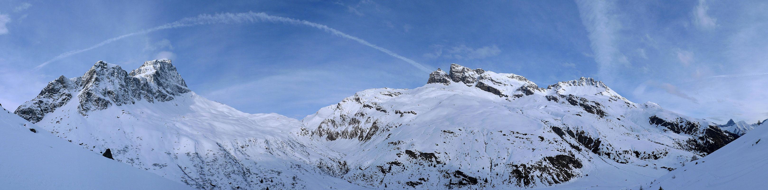 Piz Platta Plattagruppe / Oberhalbstein Switzerland panorama 10