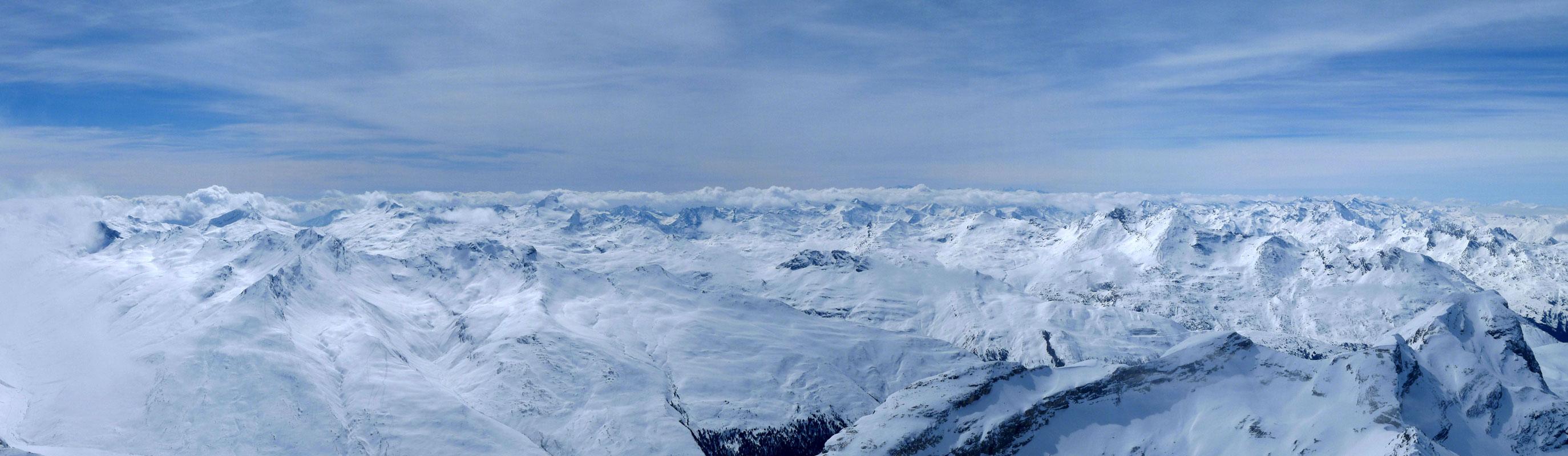 Piz Platta Plattagruppe / Oberhalbstein Switzerland panorama 44
