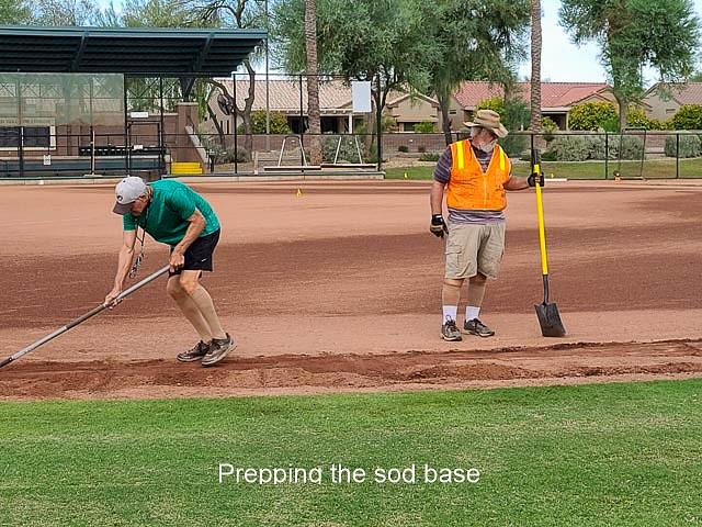 2020 Field Project - Sod & field reinstall