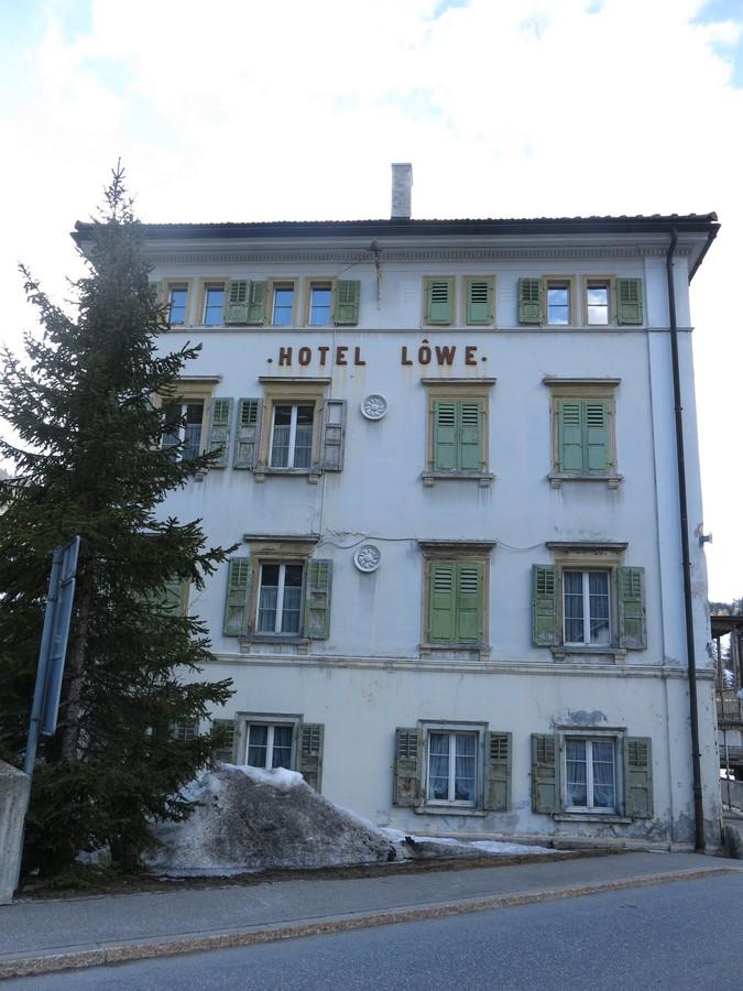 Mulegns - Posthotel Löwen Plattagruppe / Oberhalbstein Švýcarsko foto 02