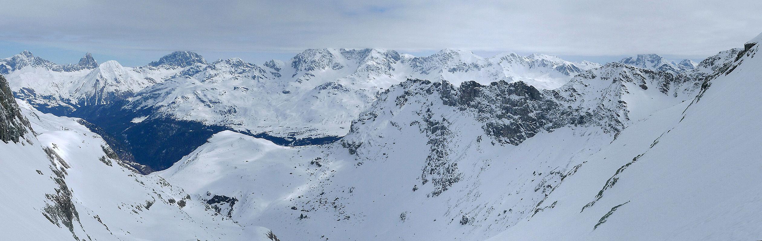 Piz Platta Plattagruppe / Oberhalbstein Switzerland panorama 31