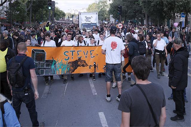 Acte 46 des Gilets jaunes ✔ Paris le 28 sept. 2019  Marche en hommage à Steve Maia Caniço IMG190928_028_©2019 | Fichier Flickr 1000x667Px Fichier d'impression 5610x3740Px-300dpi