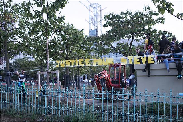 Acte 46 des Gilets jaunes ✔ Paris le 28 sept. 2019  Marche en hommage à Steve Maia Caniço IMG190928_030_©2019 | Fichier Flickr 1000x667Px Fichier d'impression 5610x3740Px-300dpi
