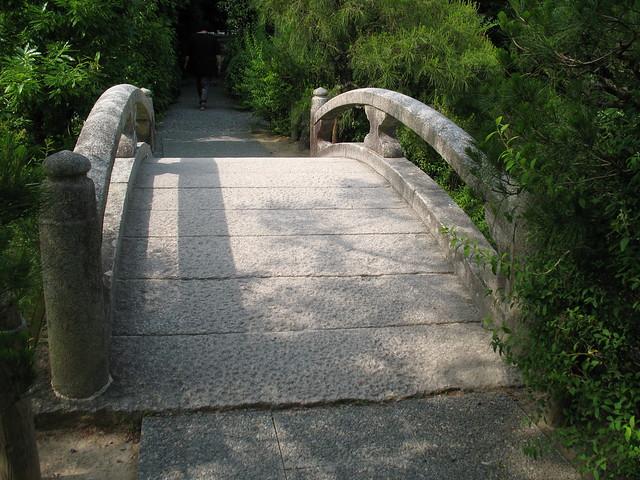 Bridge in Kinkaku-ji Temple, Kyoto