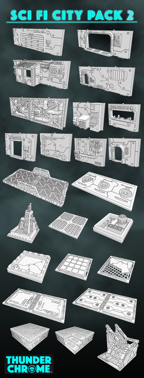 City Pack 2 contents