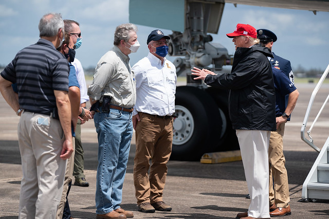 President Trump Travels to Louisiana and Texas