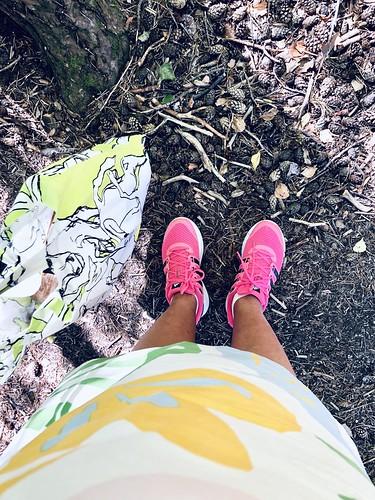 #slowfashion #ootd #shoeperdiem august 25, 2020 - marimekko and adidas #vegan