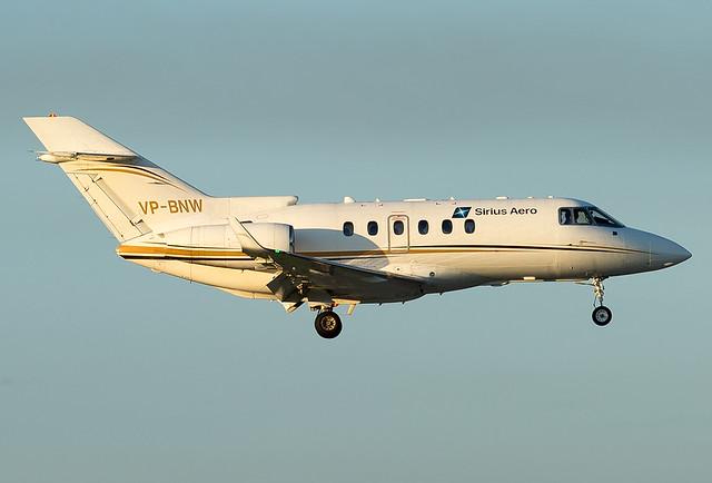 VP-BNW  Sirius Aero Hawker Beechcraft 850XP