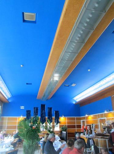 Ceiling, Carron Restaurant, Stonehaven
