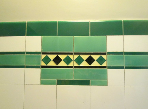 Wall Tiles, Carron Restaurant, Stonehaven