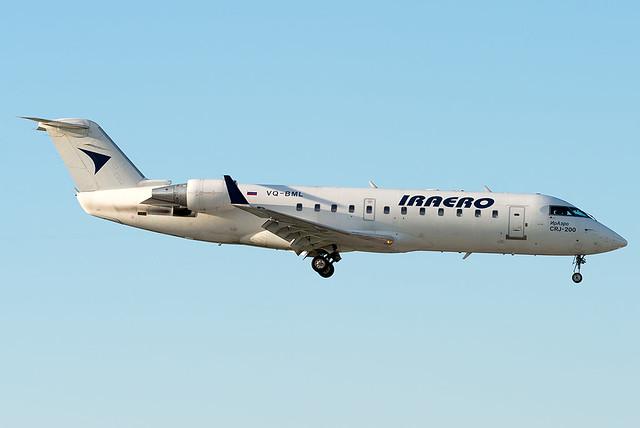 VQ-BML  Iraero Bombardier CRJ-200ER (CL-600-2B19)