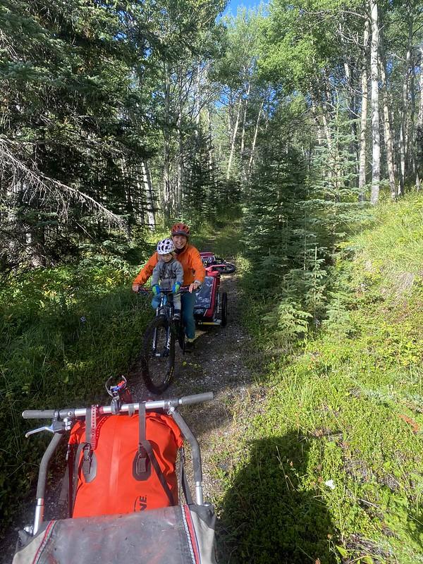 Jasper bike-packing and Mt Robson