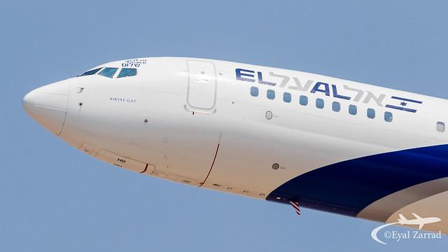 TLV - Historical Day - El Al flies to Abu Dhabi !!