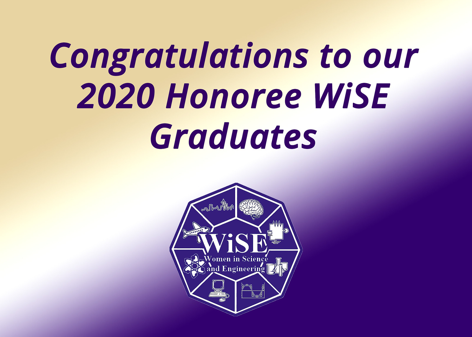 2020 Honoree WiSE Graduates
