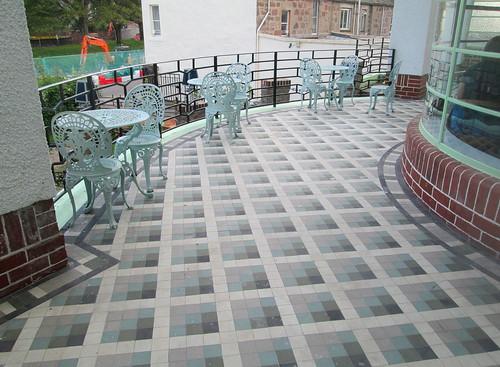 External Flooring, Carron Restaurant, Stonehaven
