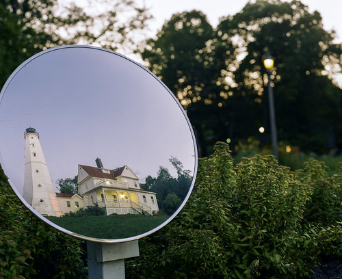 Mirrored Lighthouse