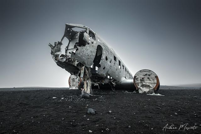 Douglas Super DC3 Plane Wreck (Iceland)