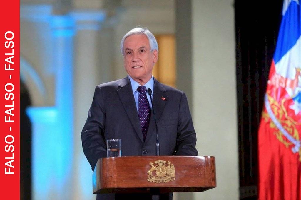 """Según Presidente Piñera, el 25 de octubre se elegirá un camino para """"perfeccionar o cambiar nuestra Constitución"""""""