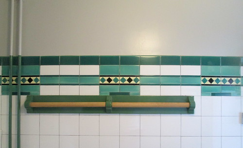Wall Tiles and Towel Rail, Carron Restaurant, Stonehaven