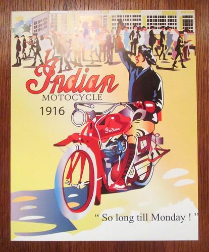 Art Deco Style Poster, Carron Restaurant, Stonehaven