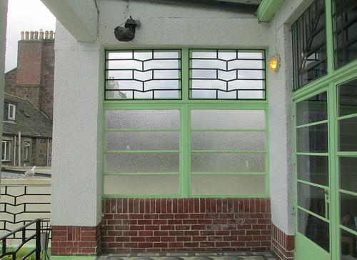 Exterior Wall, Carron Restaurant, Stonehaven