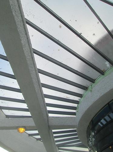 Glazing on Upper Porch, Carron Restaurant