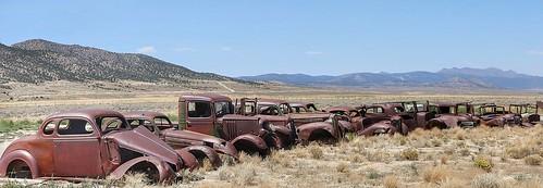oldcars vintagecars rusting rust nevada ely elynevada jalopy