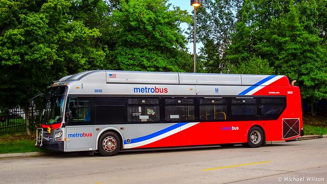 WMATA Metrobus 2015 New Flyer Xcelsior XN40 #2830