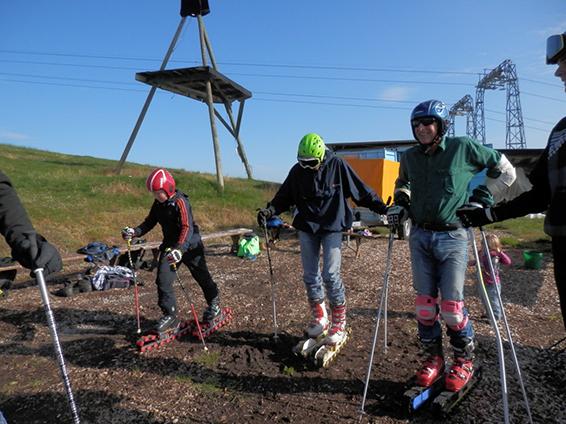 Gras-Skifahren Marbachegg