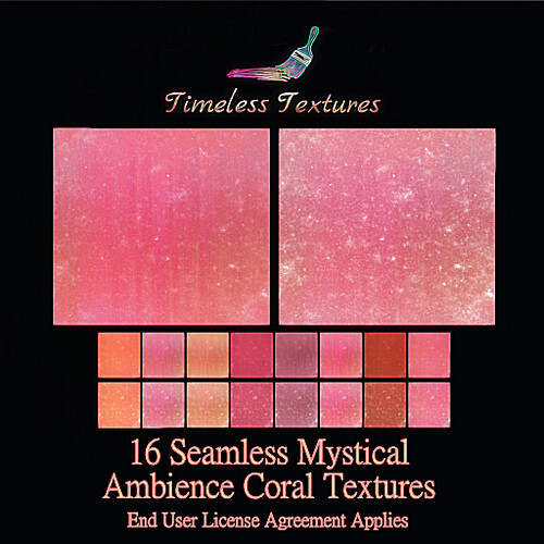 TT 16 Seamless Mystical Ambience Coral Timeless Textures