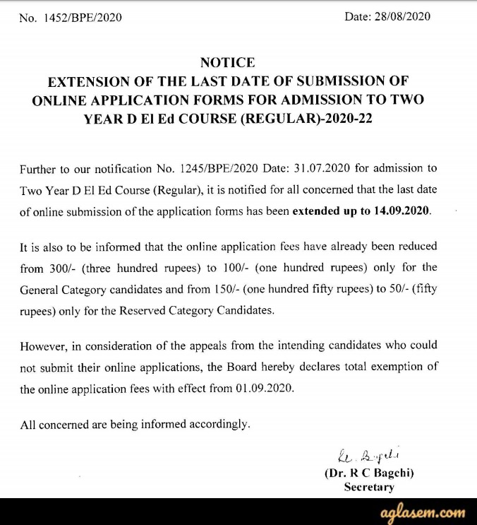 WB D.El.Ed Application Form 2020 - Last Date to Apply!