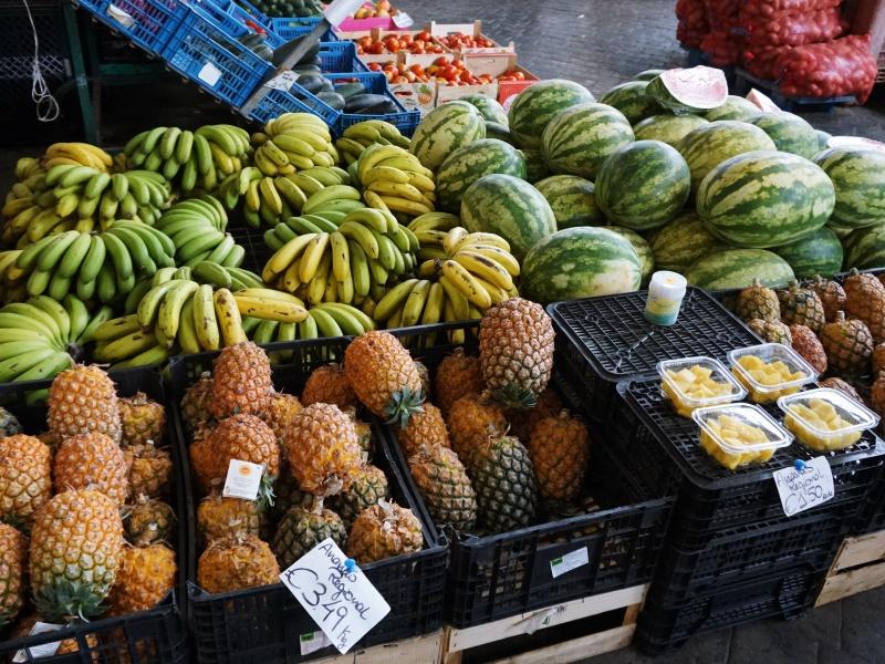 Ponta Delgada market