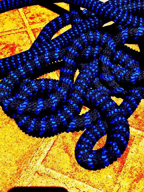 Like a snake