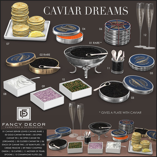 Caviar Dreams @ The Arcade | by fancydecorsl