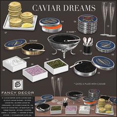 Caviar Dreams @ The Arcade