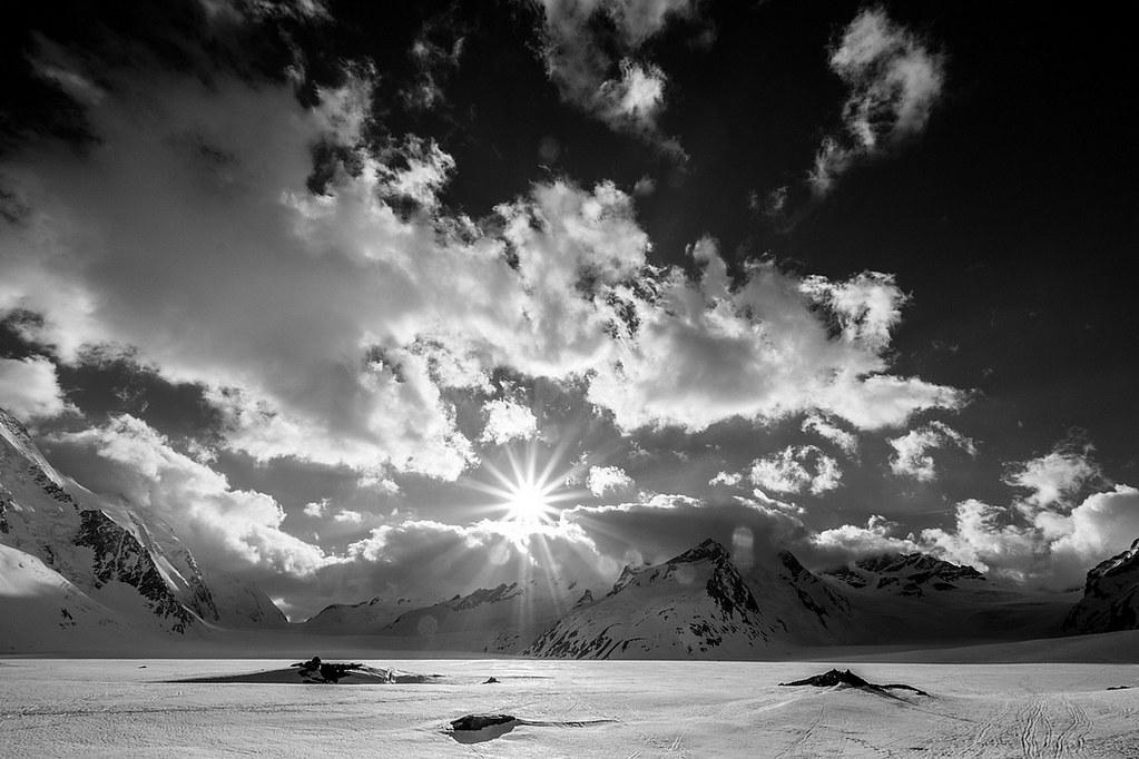 Gross Grünhorn Berner Alpen / Alpes bernoises Schweiz foto 04