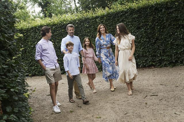 Zomergroet Kroonprinselijk gezin Denemarken - 2020