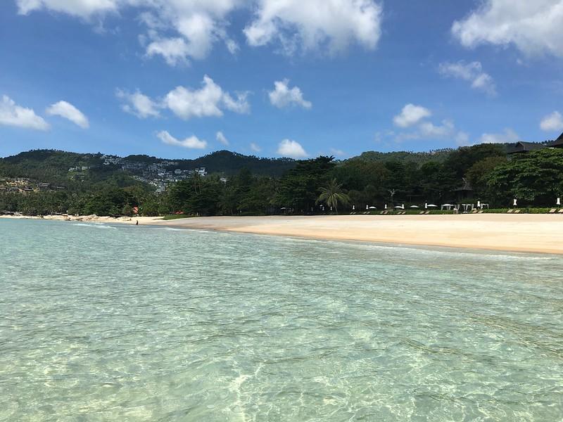 チャウエンノイビーチ サムイ島 chaweng noi beach koh samui