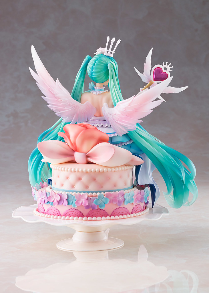 TAITO全新模型品牌 Spiritale 推出超夢幻「初音未來 Birthday 2020~Sweet Angel ver.~」