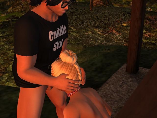 Picnic with my 'cuddle slut'