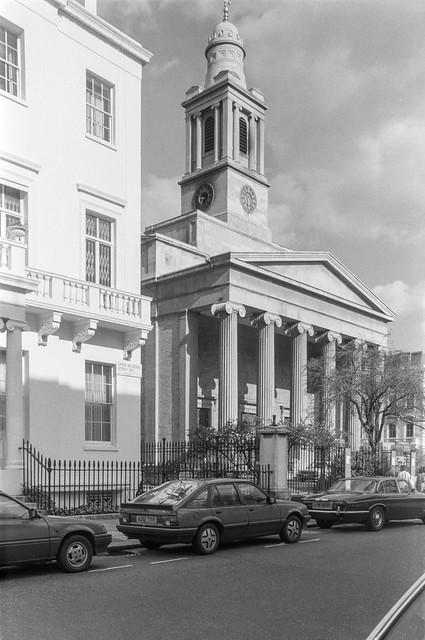 St Peter's, Church, Eaton Square, Upper Belgrave St, Belgravia, Westminster, 1988 88-3m-65-positive_2400