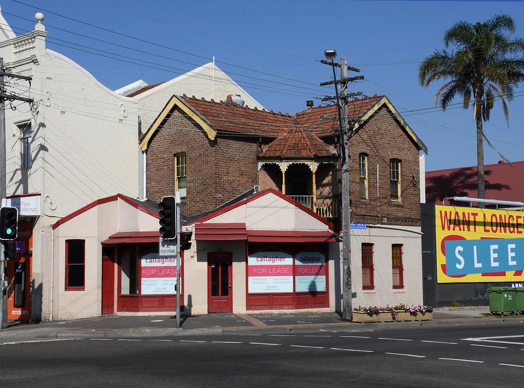Buildng, Leichhardt, Sydney, NSW.