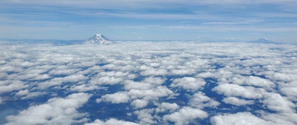 Mt. St. Helens, I think?