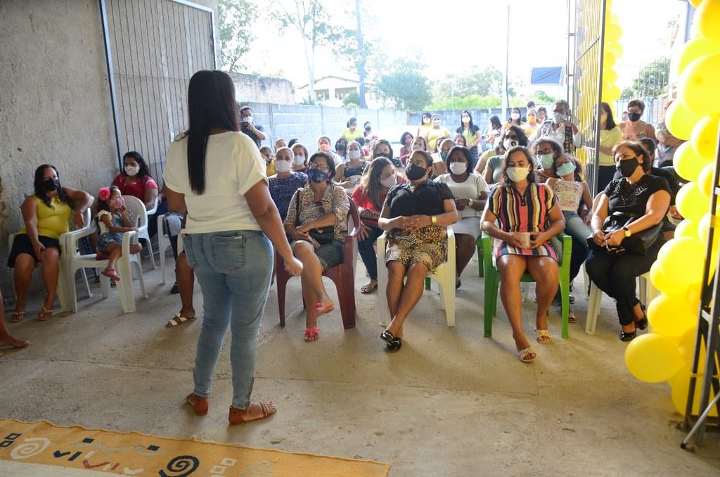Encontro de mulheres progressistas de Guarani