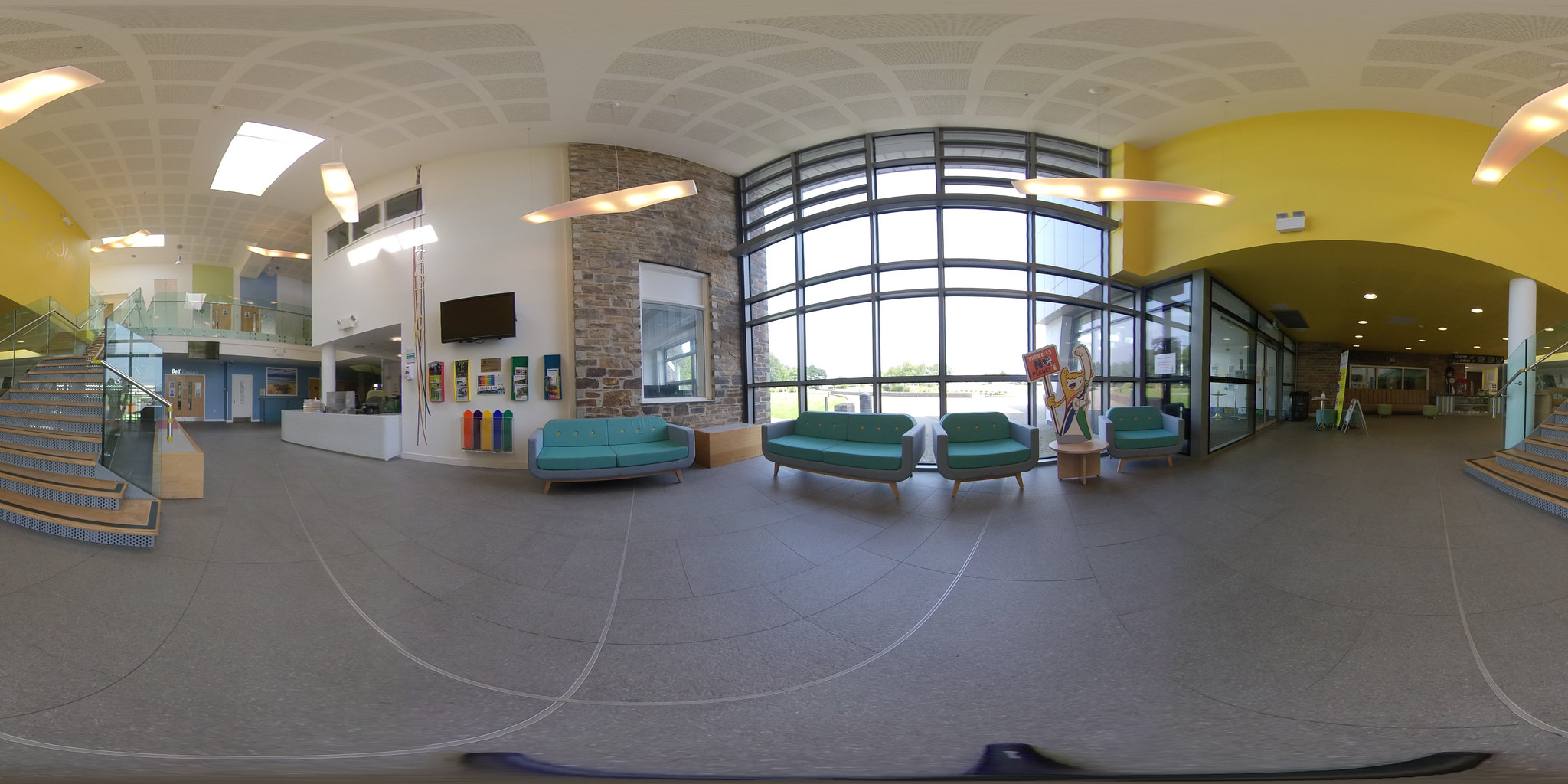 Brannel School foyer