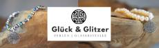 Glück und Glitzer Banner