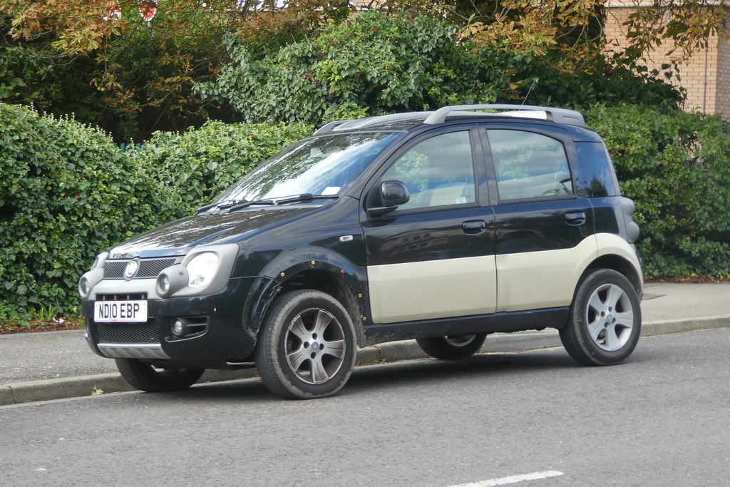 Fiat Panda 4x4 Diesel 2010 A Photo On Flickriver