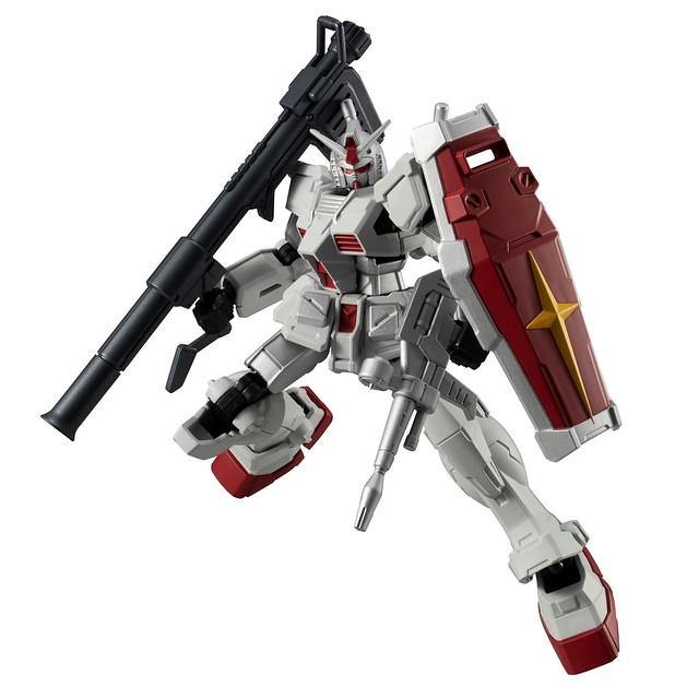 可動骨架食玩「機動戰士鋼彈 G-FRAME 12」公開Hi-ν鋼彈、神盾鋼彈、鋼彈原型機等陣容!