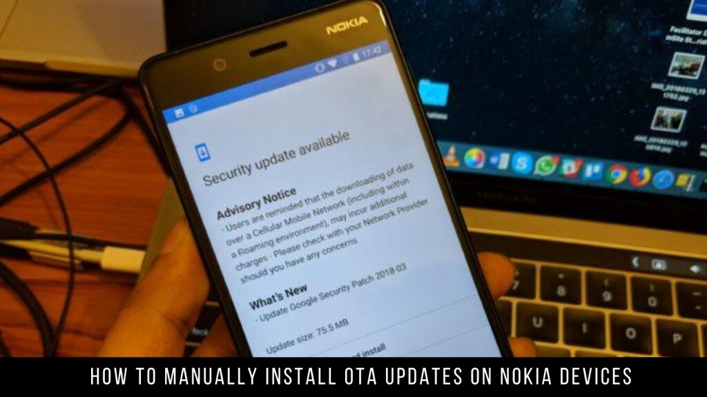 How to Manually Install OTA Updates on Nokia devices